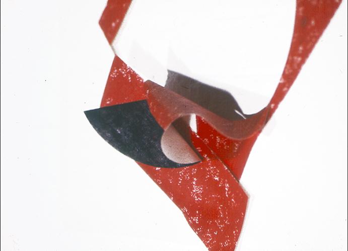 Red Oilstick detail