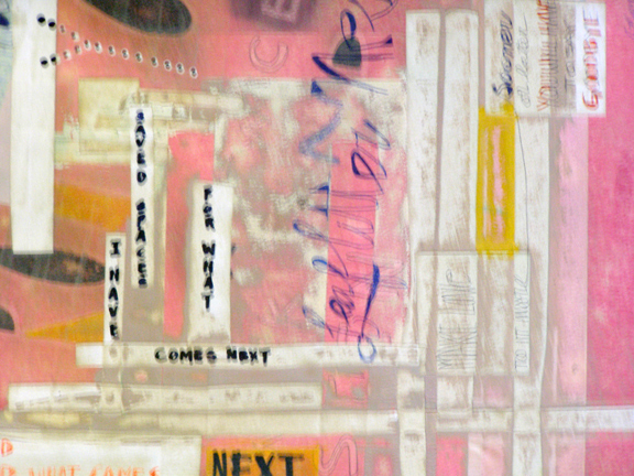 Leave Some Space... detail