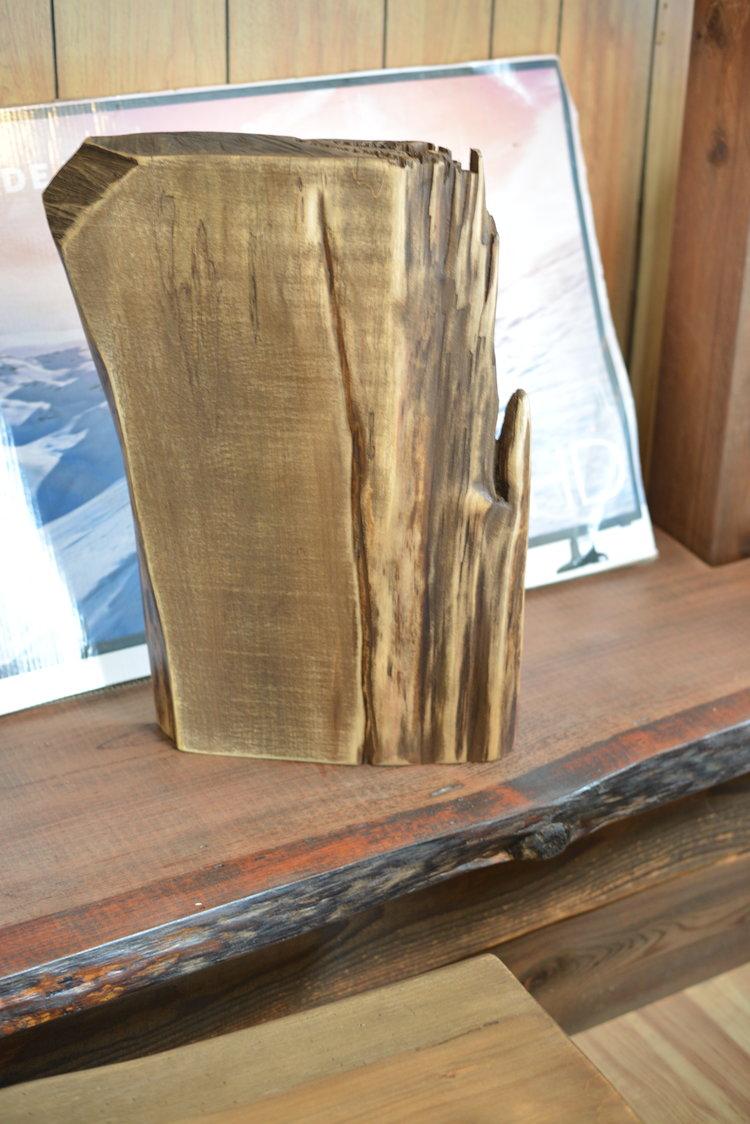 Rondin De Bois Table De Chevet meubles d'ici