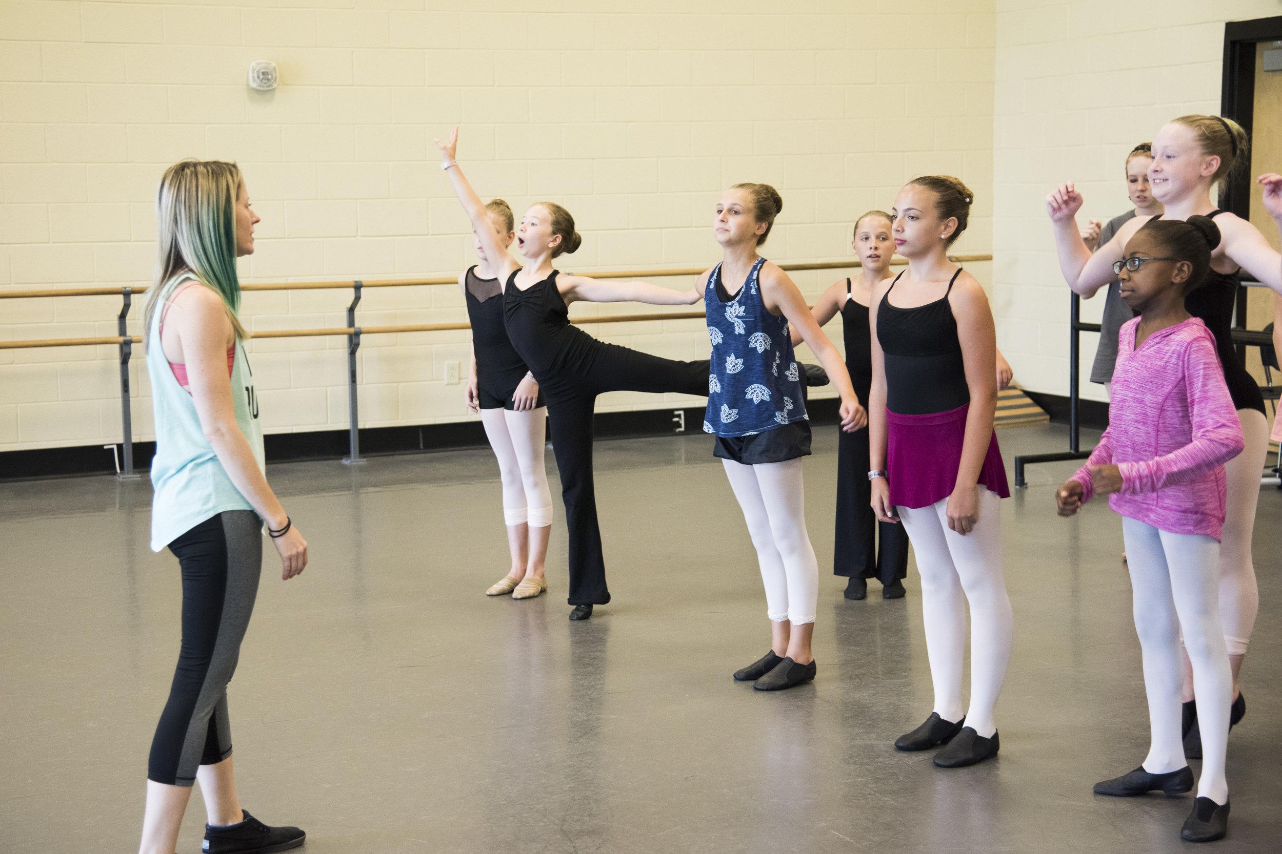 @ USC Dance Studios- jazz class