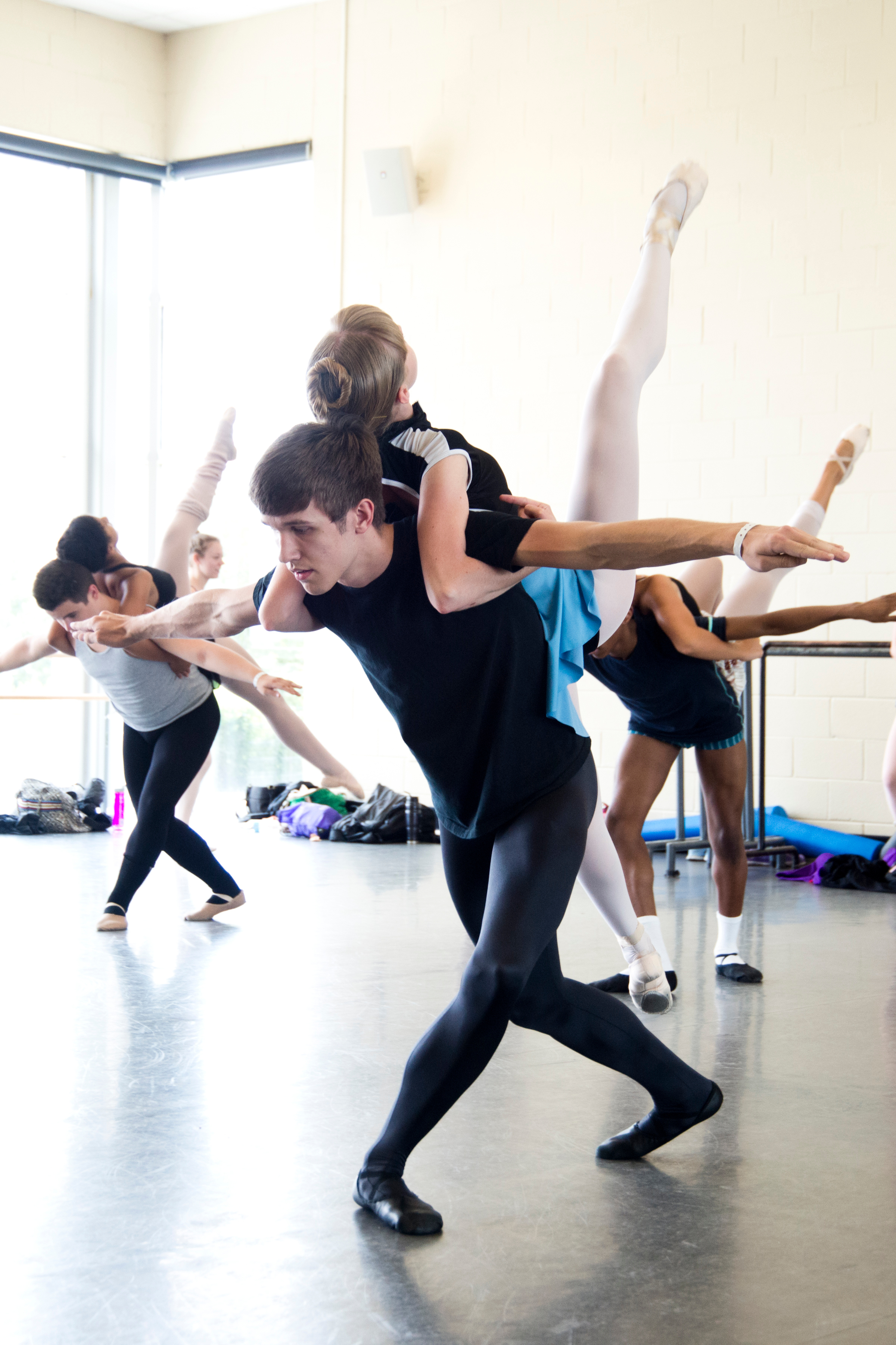 @ USC Dance Studios- rehearsal