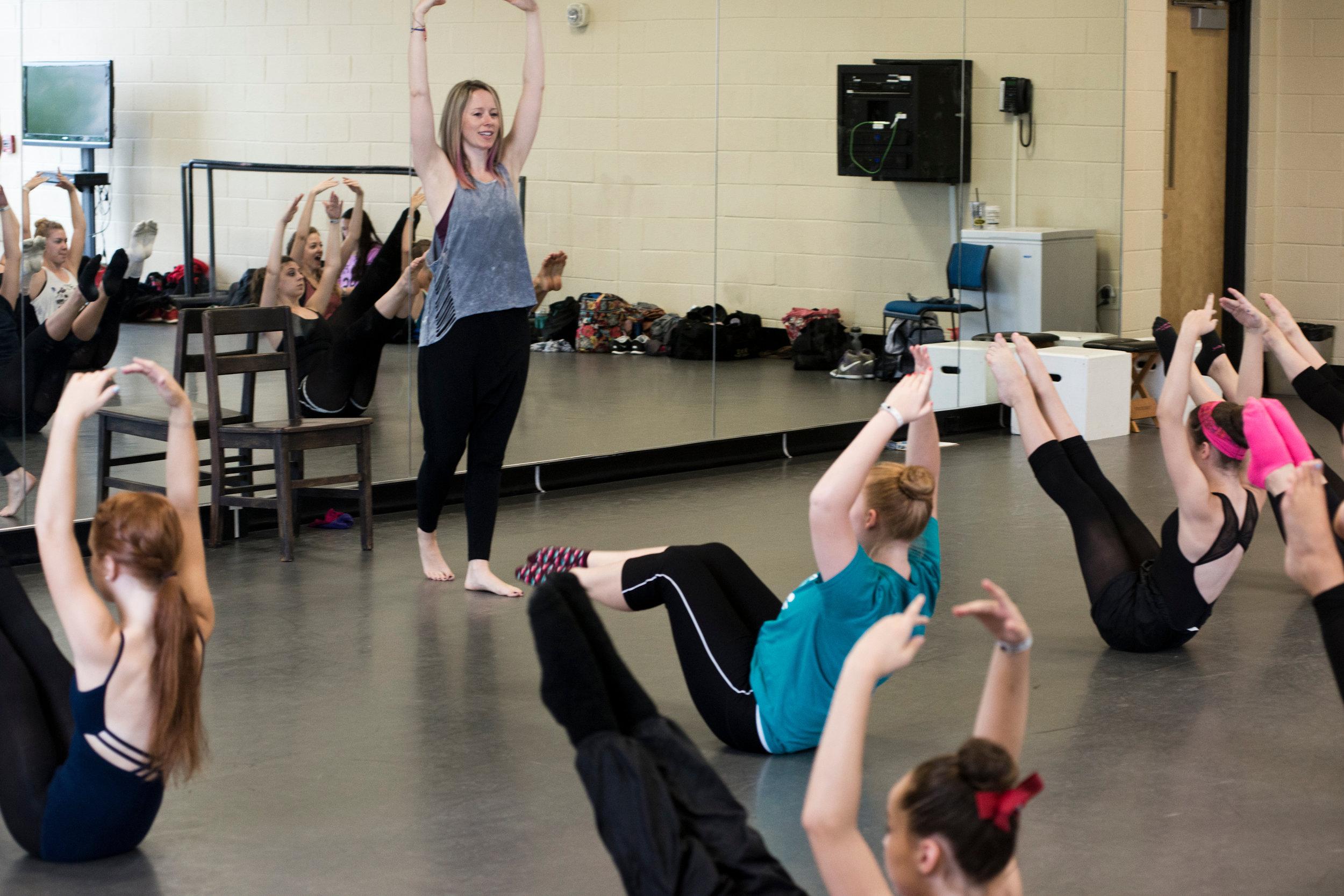 @ USC Dance Studios- contemporary class