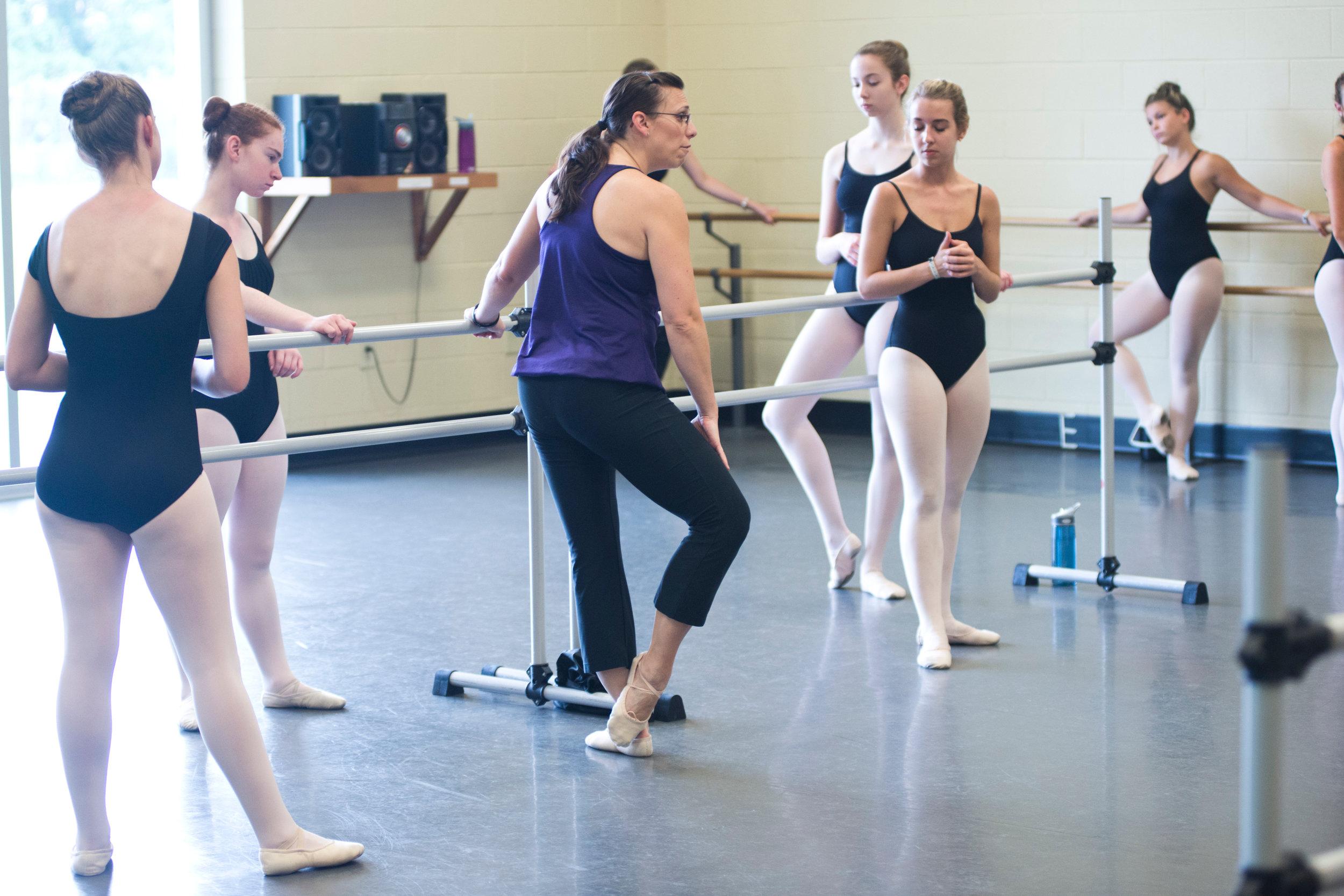 @ USC Dance Studios- ballet class