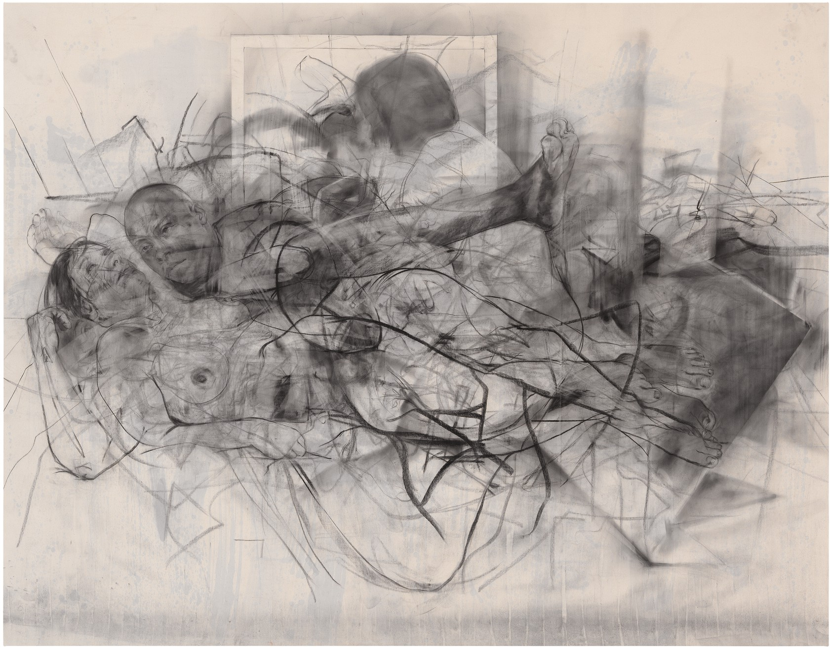 Jenny Saville - In the realm of the Mothers III, 2014 ©Jenny Saville