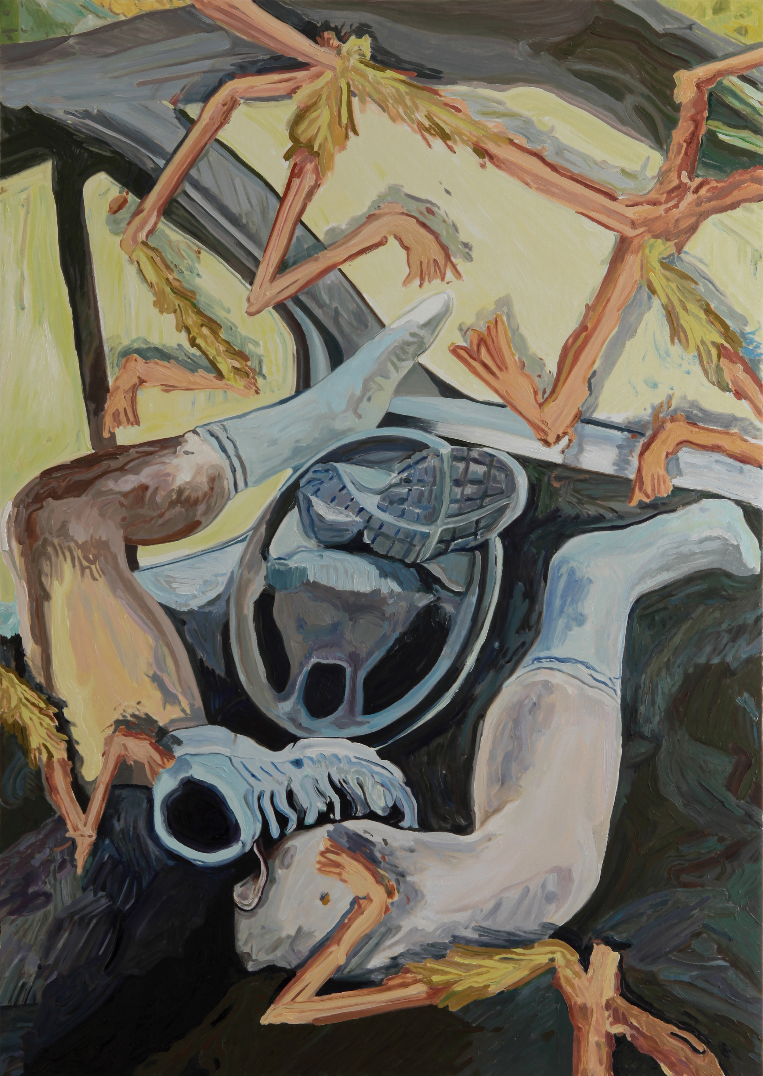 Autopilot  Oil on canvas 2018