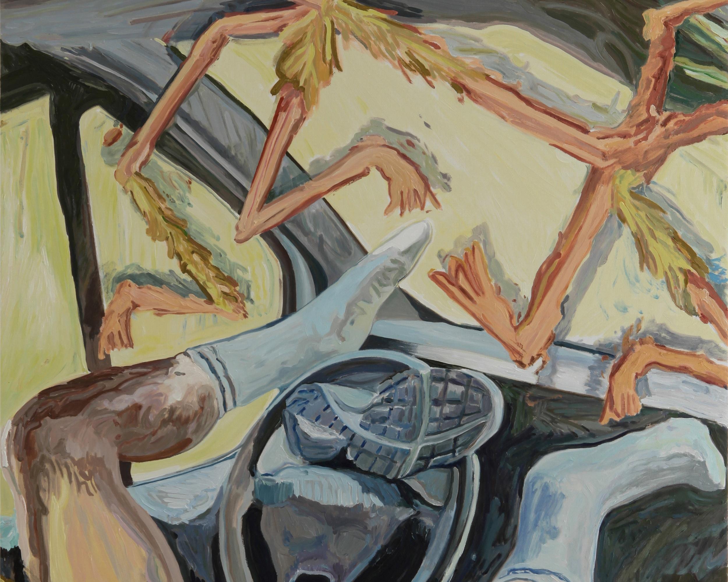 Autopilot-oil-canvas