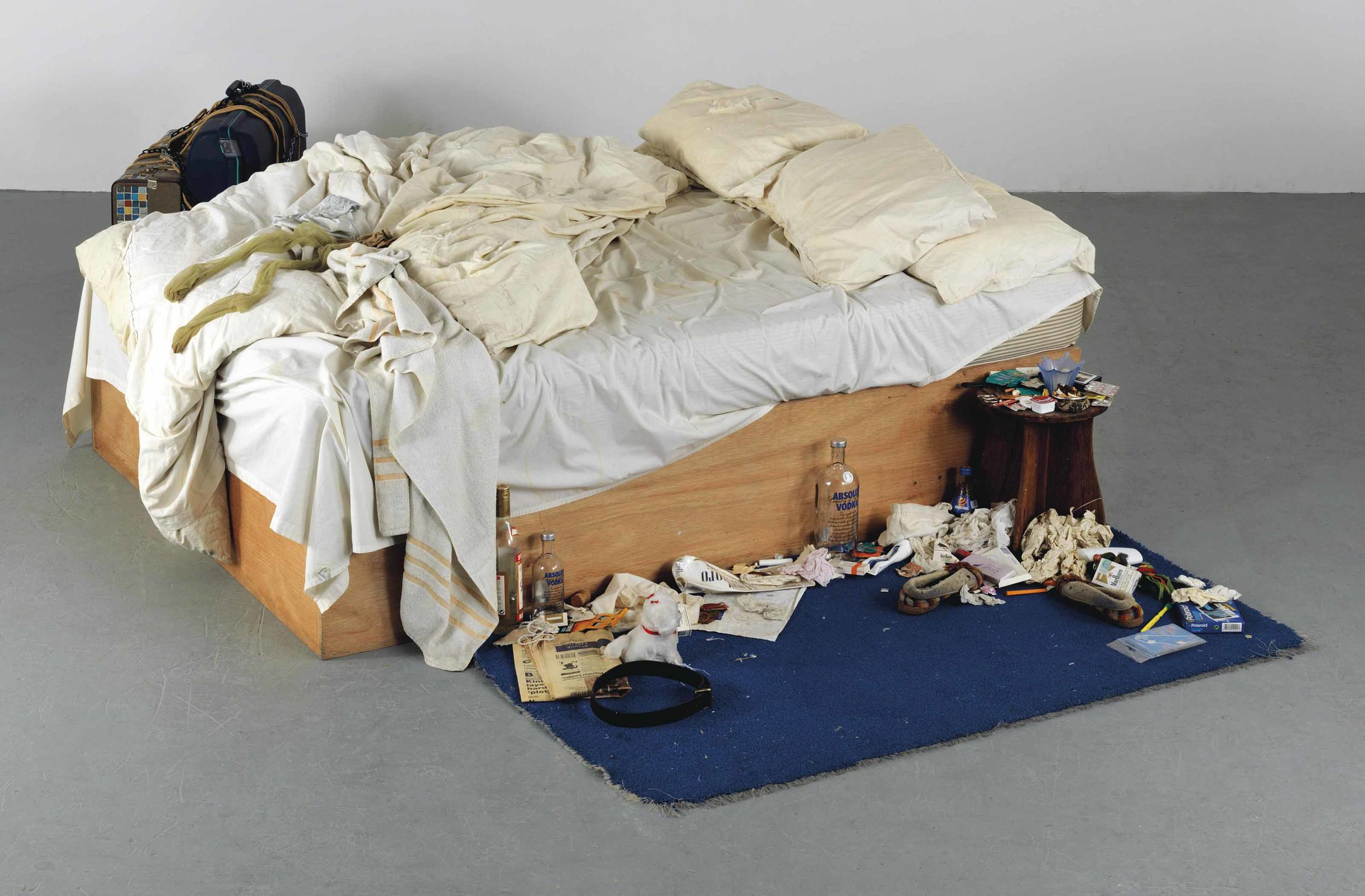 Tracey Emin -   My Bed,  1998