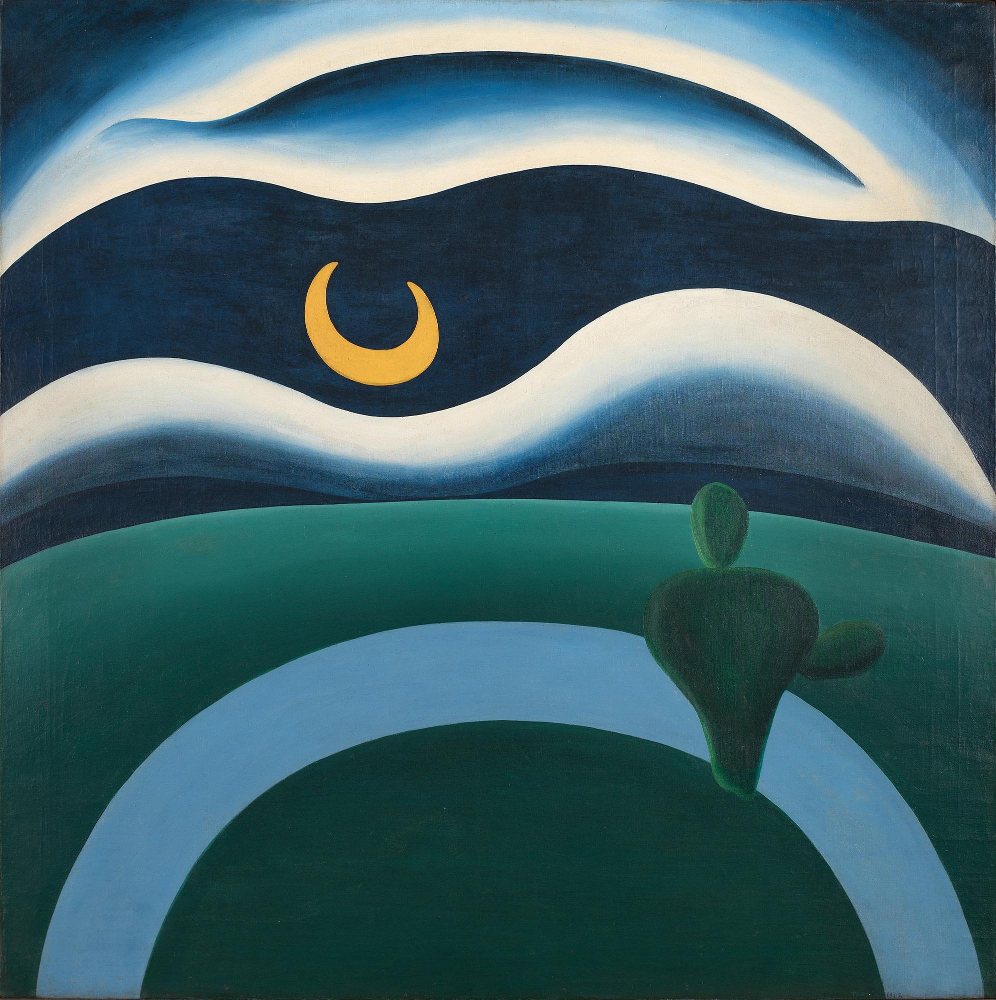 Tarsila do AmaralA Lua (The Moon) 1928 -