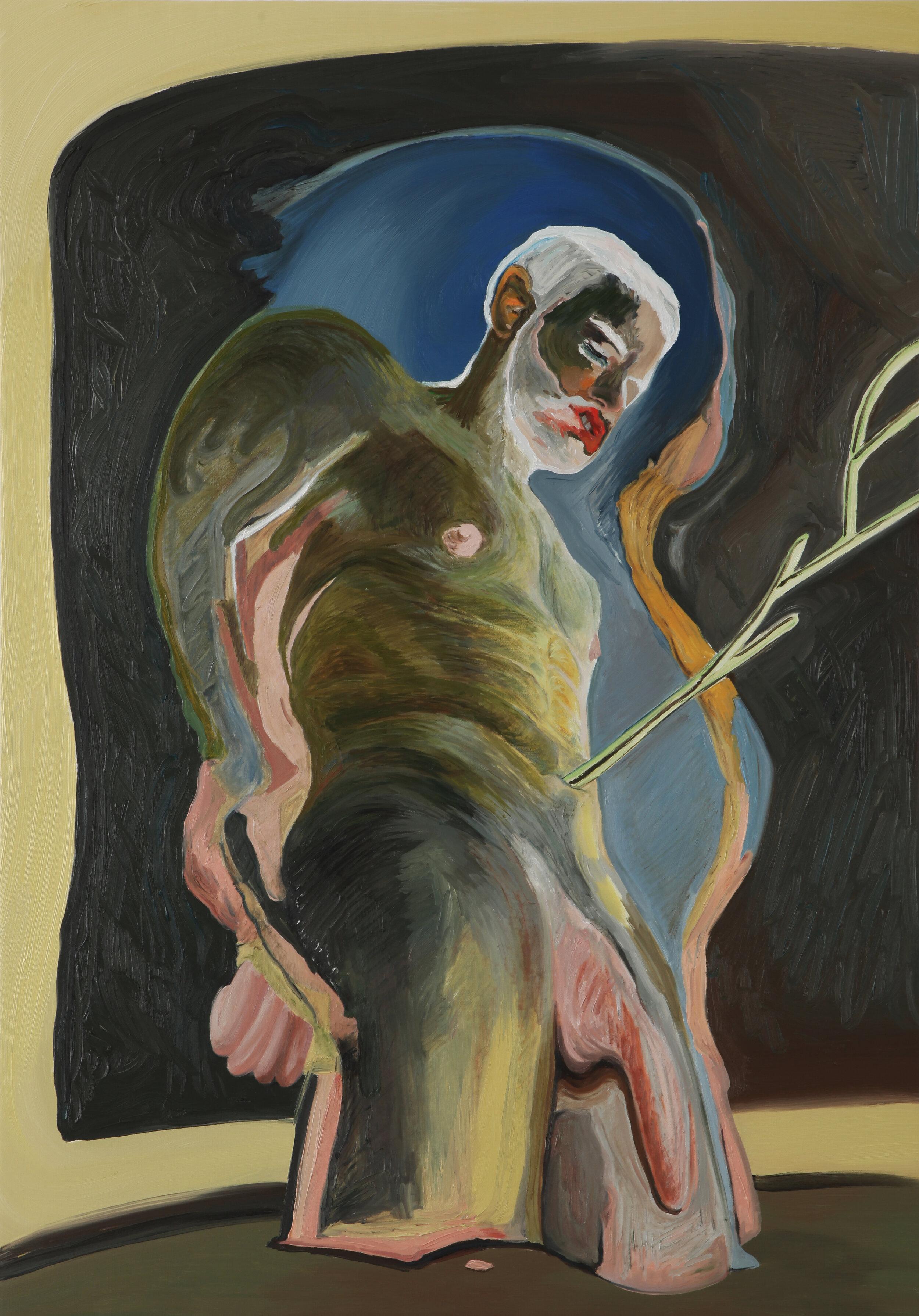Poison Arrow , 2018, oil on canvas