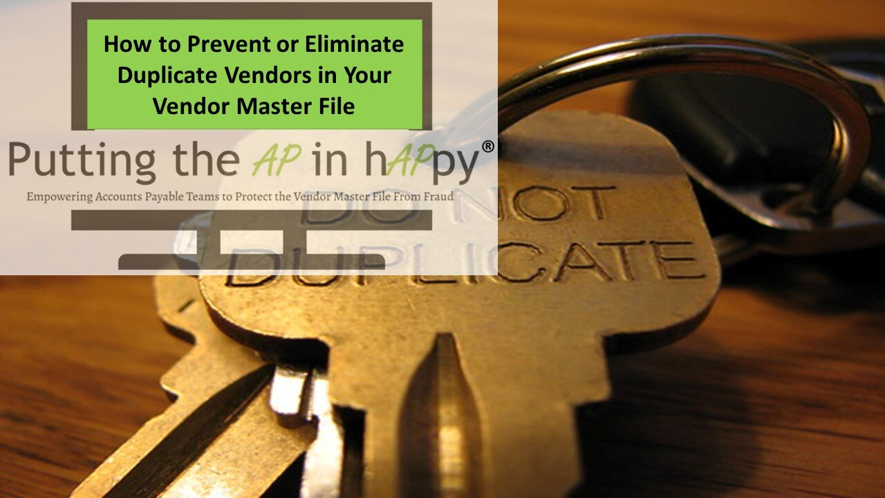 How to Prevent or Eliminate Duplicate Vendors in Your Vendor Master File.jpg