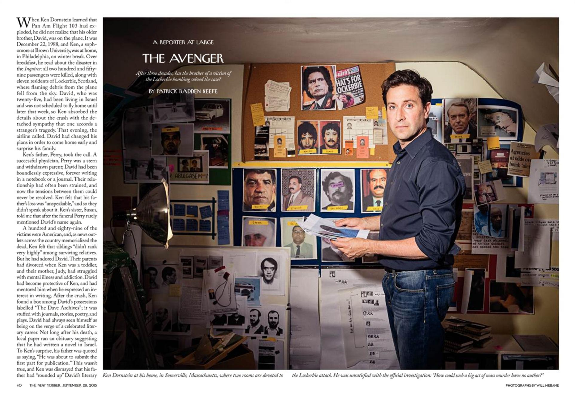 """""""The Avenger,"""" The New Yorker, September 28, 2015"""