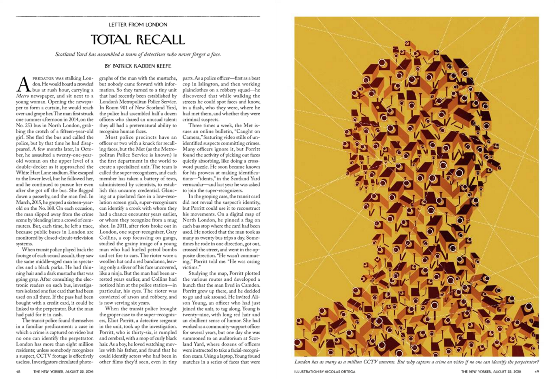 """""""Total Recall,"""" The New Yorker, August 22, 2016"""