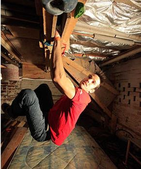 Tom Randall setting himself up for success with the Dungeon of Doom in his own basement