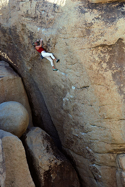 """John Bachar on """"Father Figure,"""" becoming the first person on earth to solo 5.13a"""