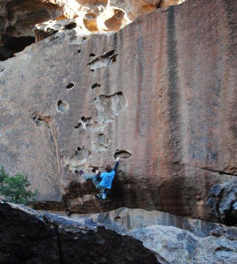 Bouldering…. How dangerous…