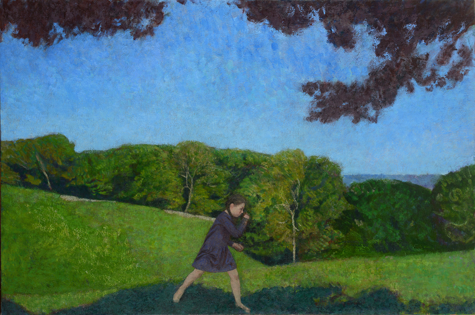 The Field 36x55 inches
