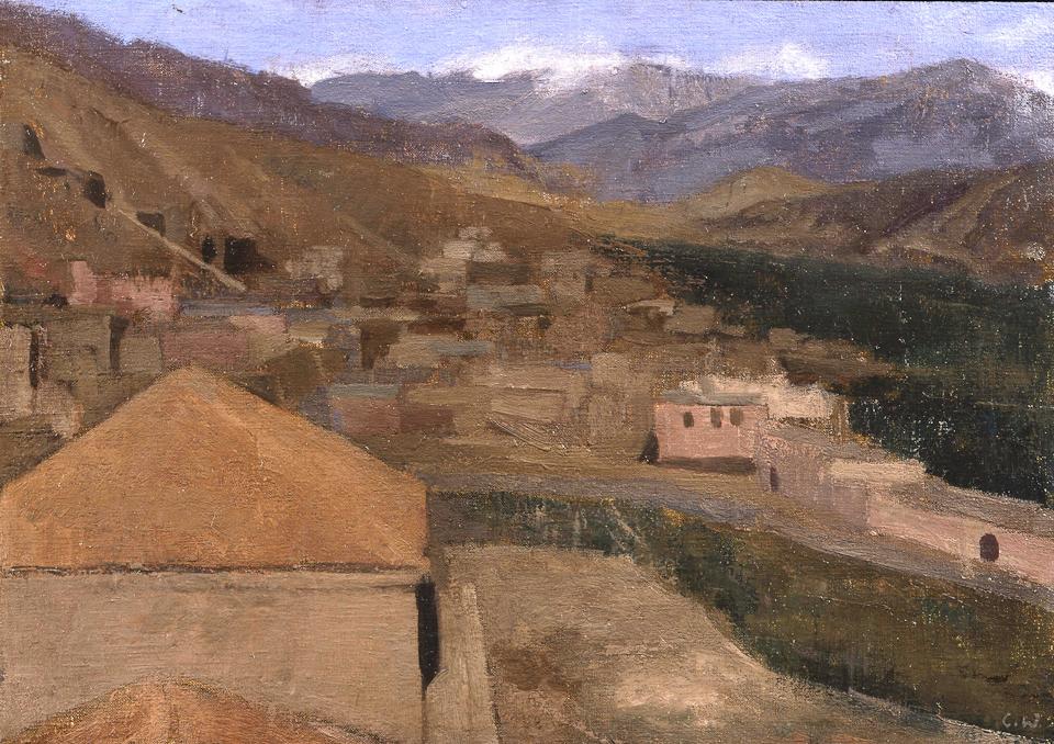Tin Mal, Oil on Canvas, 25.5 x 35.5cm