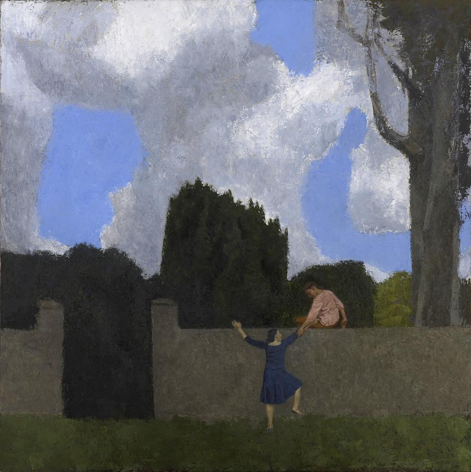 Midsummer, Oil and Casein on Canvas, 122 x 122cm