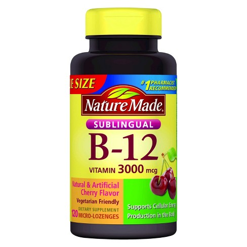 Vitamin B12 - B-12 is helps give your body energy, blood and cell function in the making of DNA, and prevents anemia.