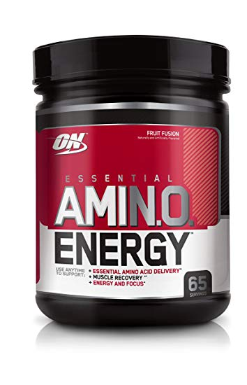BCAA - Amino acids are naturally found in protein and are said to promote recovery and reduce soreness, help build muscle, and increase performance.