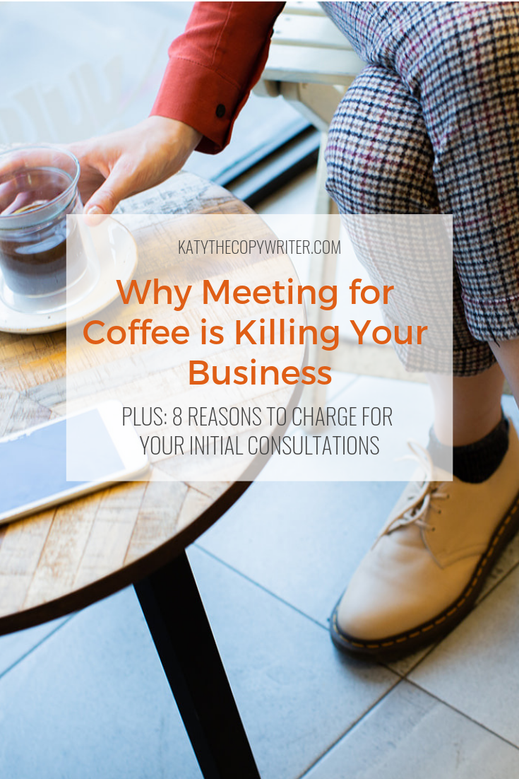 In June 2018, I spent 42 hours and $255 dollars meeting potential clients 'for coffee' and not a single one of them converted into a paying customer. Ouch.
