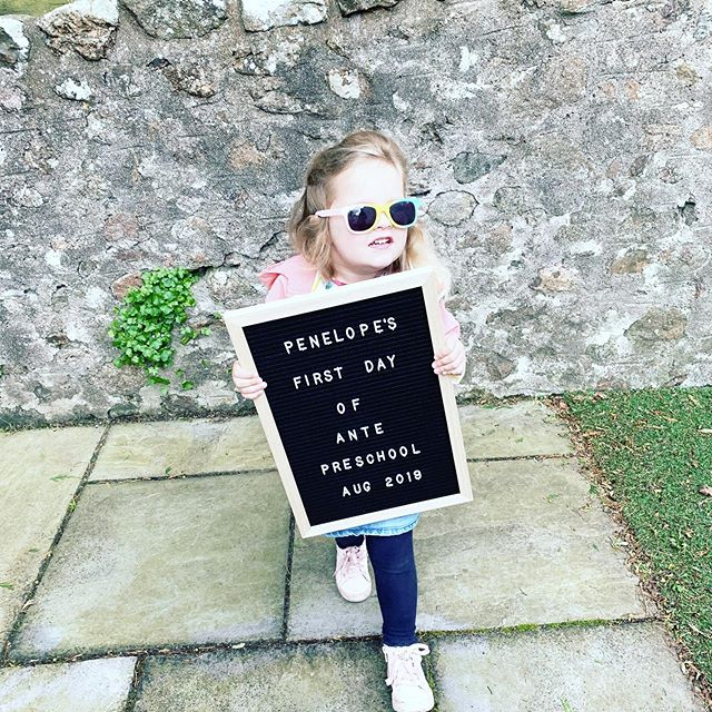 Obligatory first day photo ⠀ After a brilliant first year in nursery, P is moving on up to her new nursery class. She's been excited for weeks so I hope it lives up to her expectations! swipe to see how tiny she was last year! ⠀ .⠀ .⠀ #firstdayphoto #nurserydays #antepreschool #gratitude #mumlife #throughmumseyes #dailyparenting #cherisheverymoment #aberdeen #modernmum #letthembelittle #childhoodunplugged #setyourintention #weeklyintentions #positiveparenting #happymumhappylife #ohheymama #pkerradventures