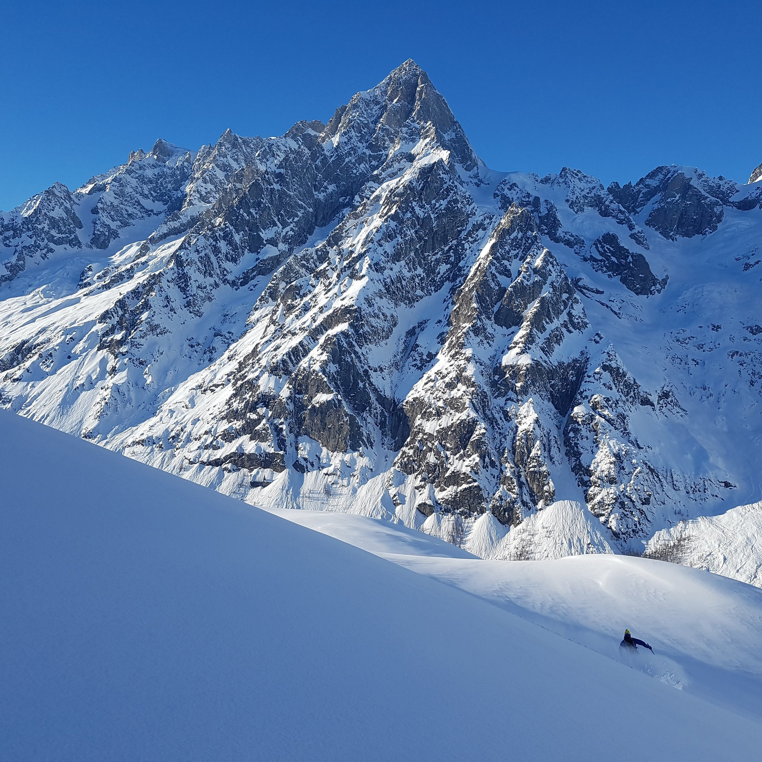 Fresh powder and solitude in Italy