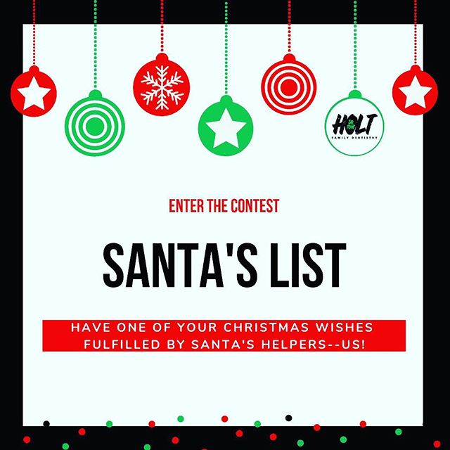 We are decking the halls with boughs of holly, turning up the Christmas tunes, and wishing for a white Christmas. Share an item from your Christmas wish list in the comments. One lucky winner will have their wish fulfilled by Santa's helpers--US! When you tag a friend and/or family member in the post and/or share a photo on Santa's lap (past or present) you'll receive two entries to the Santa's List drawing.