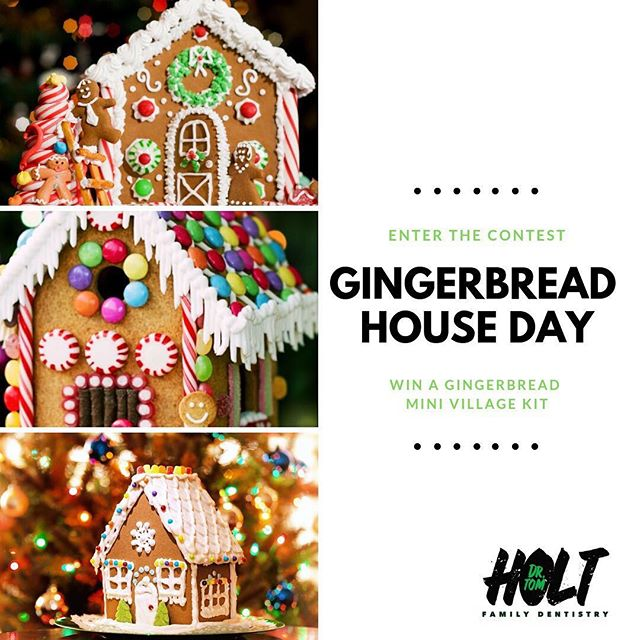 We are honoring a Christmas tradition that dates back to Germany during the 16th century. Bring out your Hansel and Gretel and share what you would put on your gingerbread house in the comments for a chance to win a Gingerbread Mini Village Kit, perfect for the whole family. Fröhliche Weihnachten--that's Merry Christmas, in German!