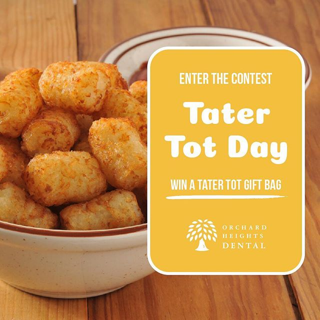 Just like Napoleon Dynamite, we love our tater tots! In honor of Tater Tot Day, we'd like you to share your favorite dipping sauce in the comments, for a chance to win a tater tot gift bag. We are putting money on Ranch, but then again it might be whatever one can find in the fridge at 2 am.