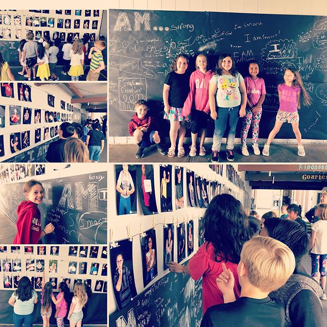 Another reminder of why I love working with communities. This morning the students and teachers had the opportunity to see all the I AM... photos! A quick nap and then off to the evening event with parents and community members.