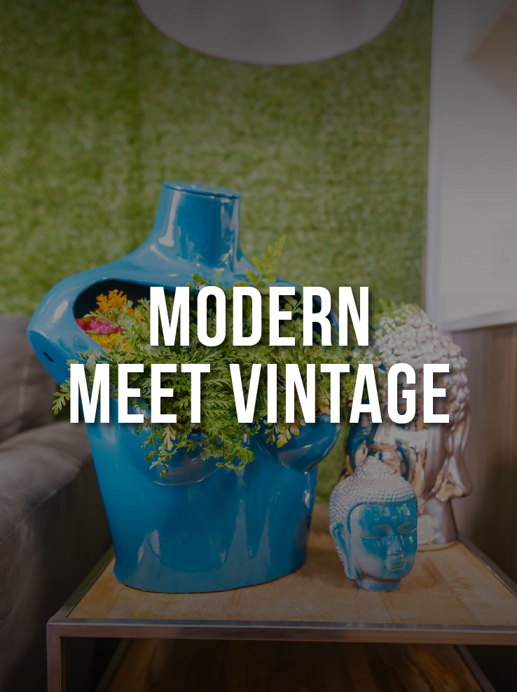Modern Meet Vintage