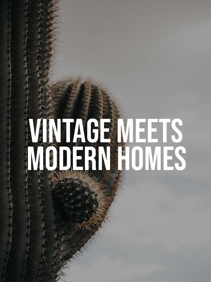 Vintage Meets Modern Homes