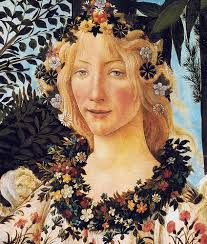 Flora, Goddess of Spring taken from Botticelli's, Primavera.    We hope you enjoy this very unpredictable spring and remember it's Flora's FAVOURITE time of year, after all she is the goddess of spring and all things nice….     Love Flora xx