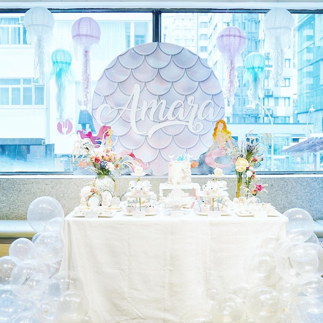 The sea, once it casts its spell, holds one in its net of wonder forever. - We had the best time doing this beautiful party - light, airy and all sorts of breathtaking.