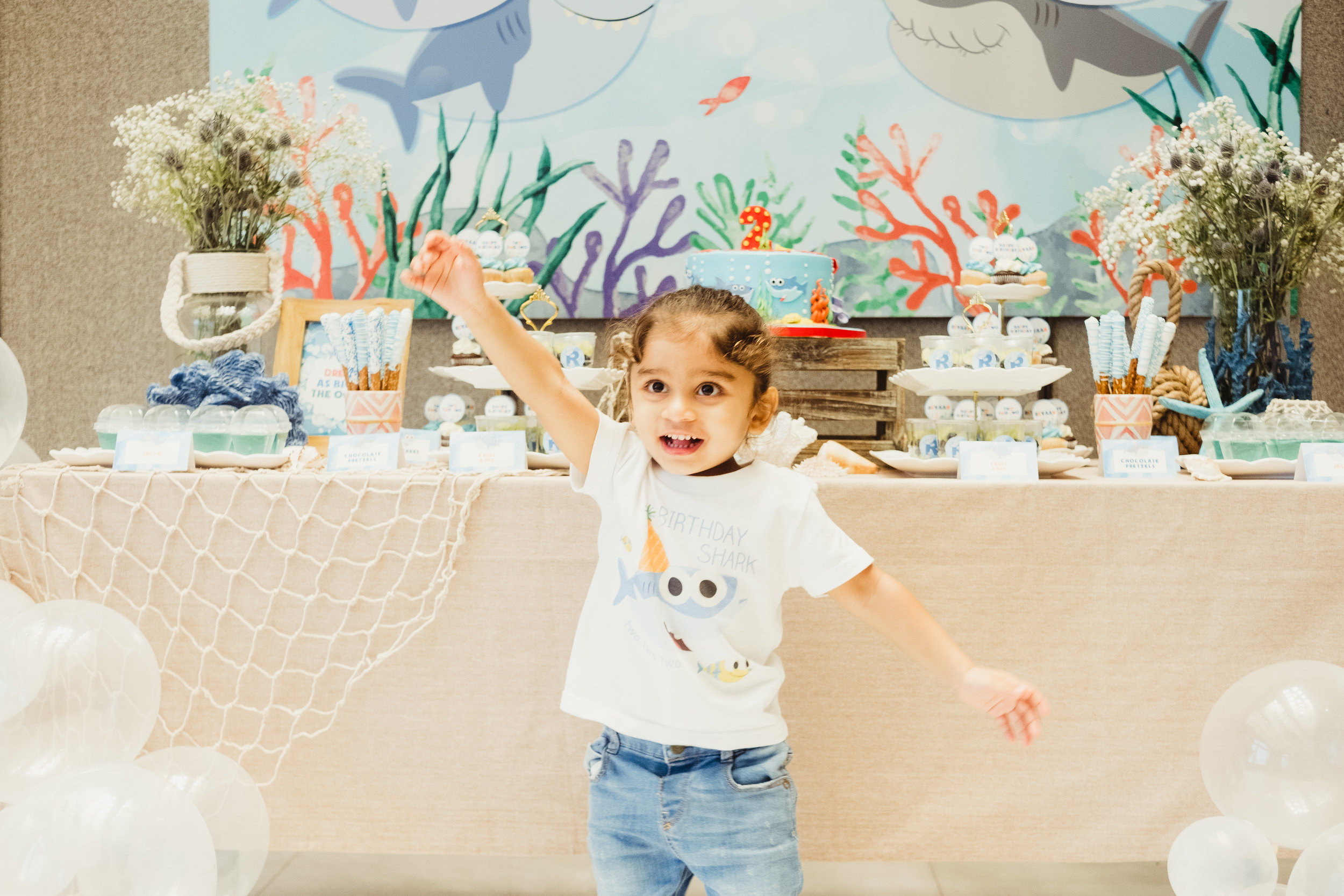 Baby SharkTwo, Two, Two - Reyaan's Baby Shark x Under The Sea party was a bubbling success!