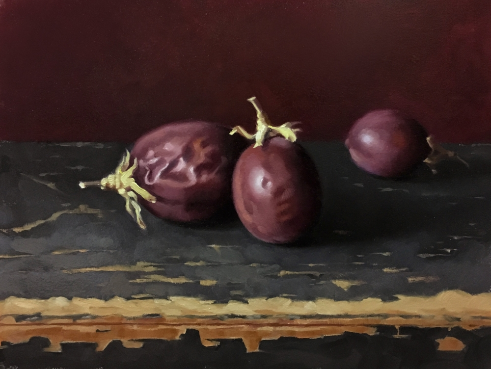 PASSIONFRUIT / 11 X 16 / OIL ON PANEL