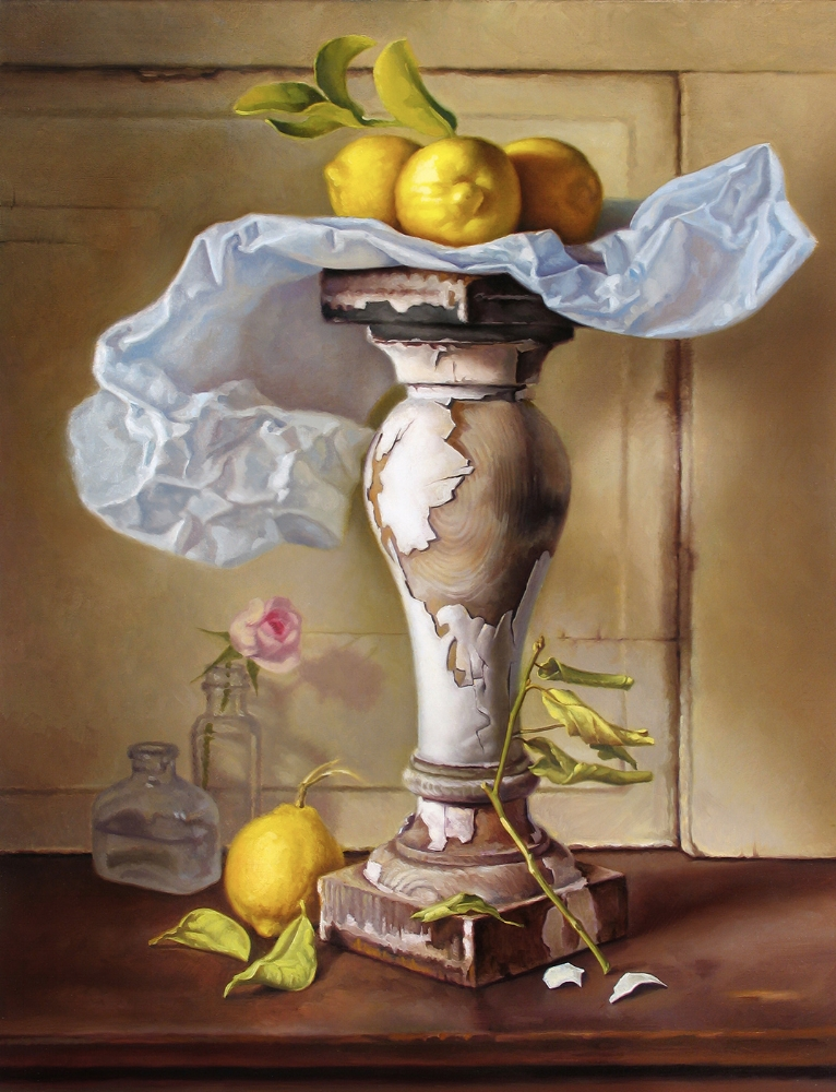 LEMON TREE / OIL ON CANVAS / 30 X 24
