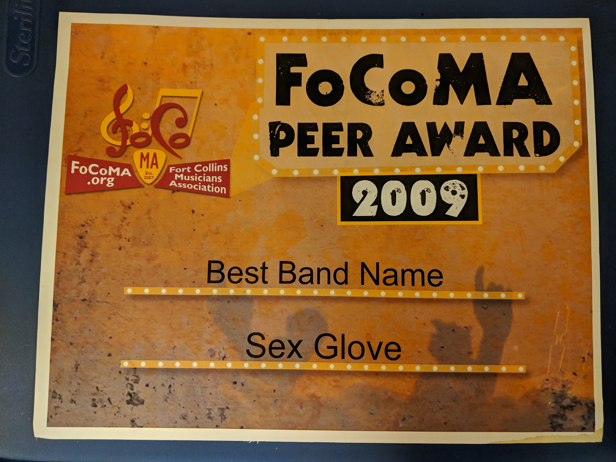 The award that is referenced. Just look at that logo.