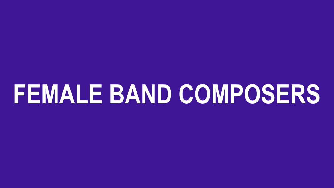 Created by composer Jodie Blackshaw of New South Wales, AU, this database focuses on band literature at grade levels 1-4 by female composers. An easy-to-use submission tool means this list is constantly updated with user suggestions.