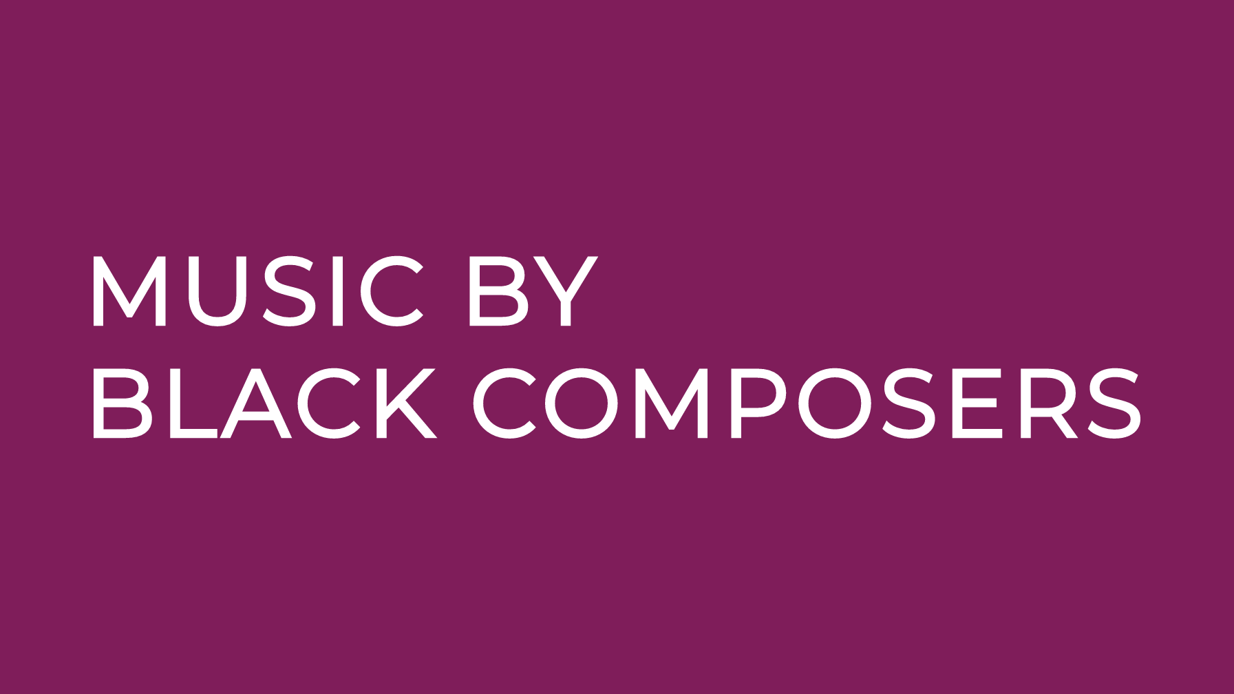 Founded by violinist Rachel Barton Pine, this organization seeks to bring awareness to the classical literature of Black composers and to inspire Black students to engage in the classical music landscape. The Living Composer Directory resource is an especially valuable tool for those looking to program diverse voices.