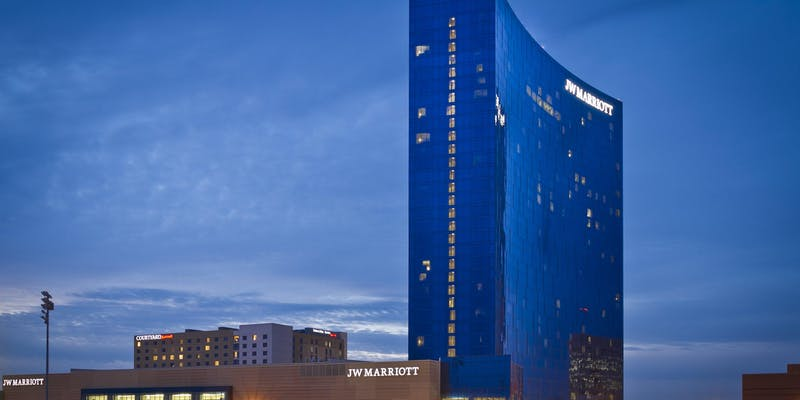 The JW Marriott, home of the Bluecoats World Championships Banquet!