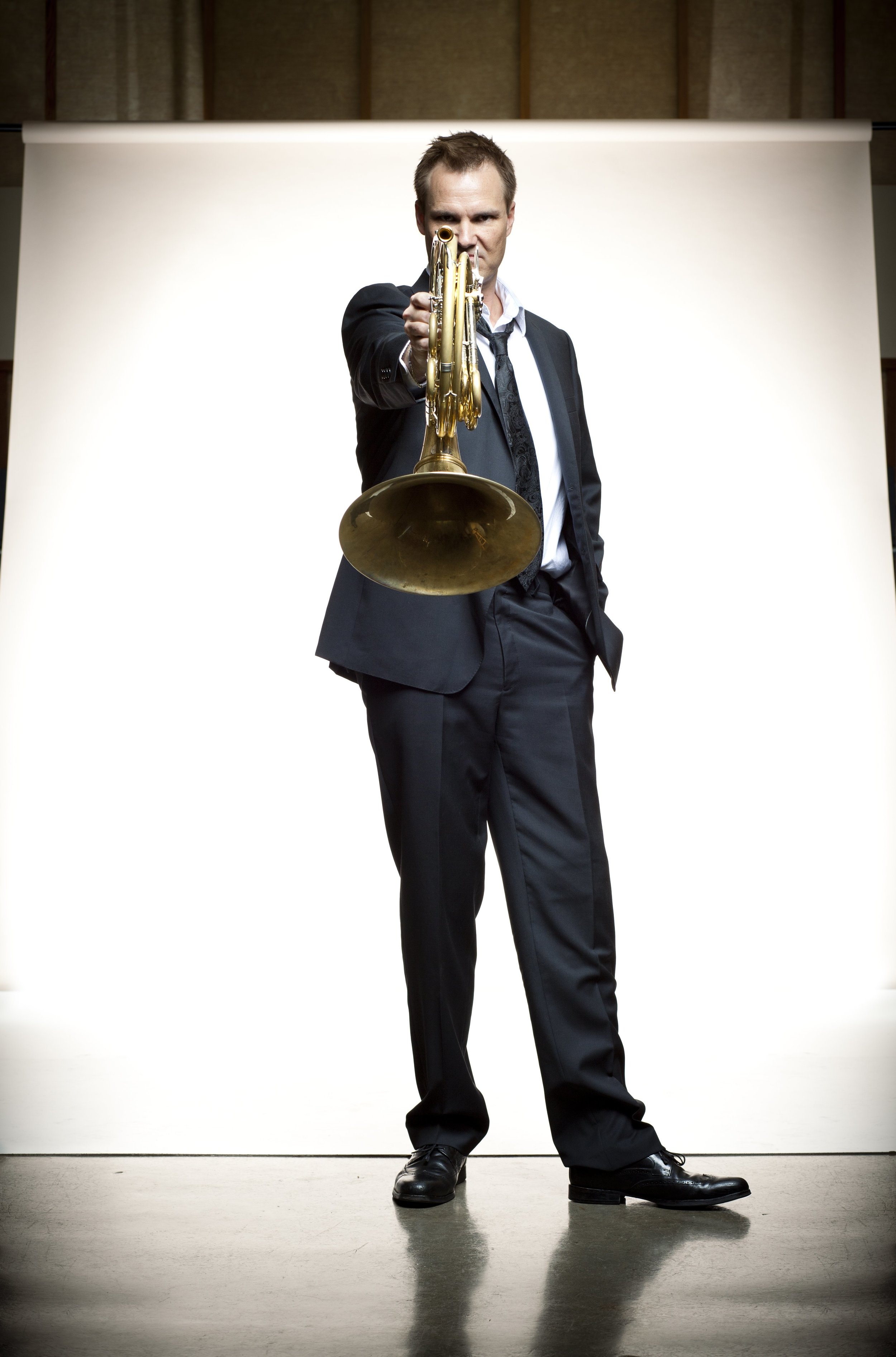 Jeff Nelsen  toured and recorded with the  Canadian Brass  for eight years, and has performed with more than a dozen orchestras including the New York and Los Angeles Philharmonics.