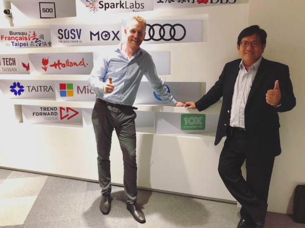 10x Innovation Lab an official partner with Taiwan Tech Area