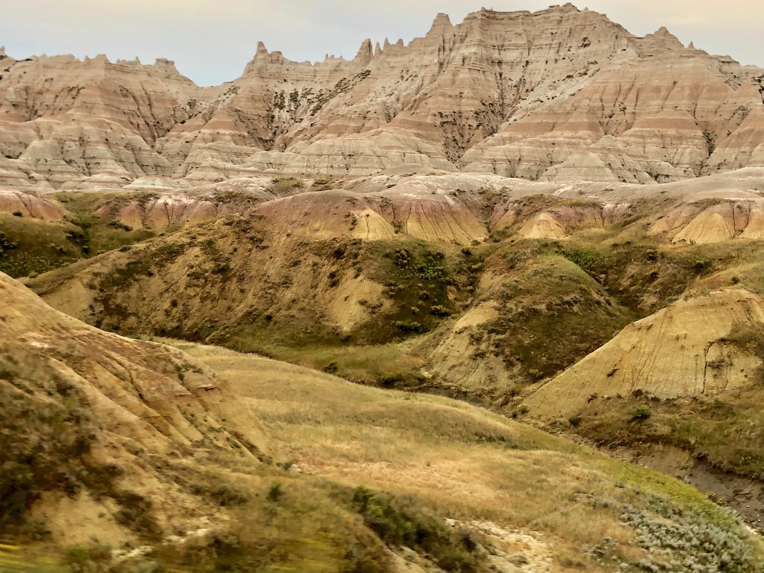 """The Wall."" Badlands, South Dakota"