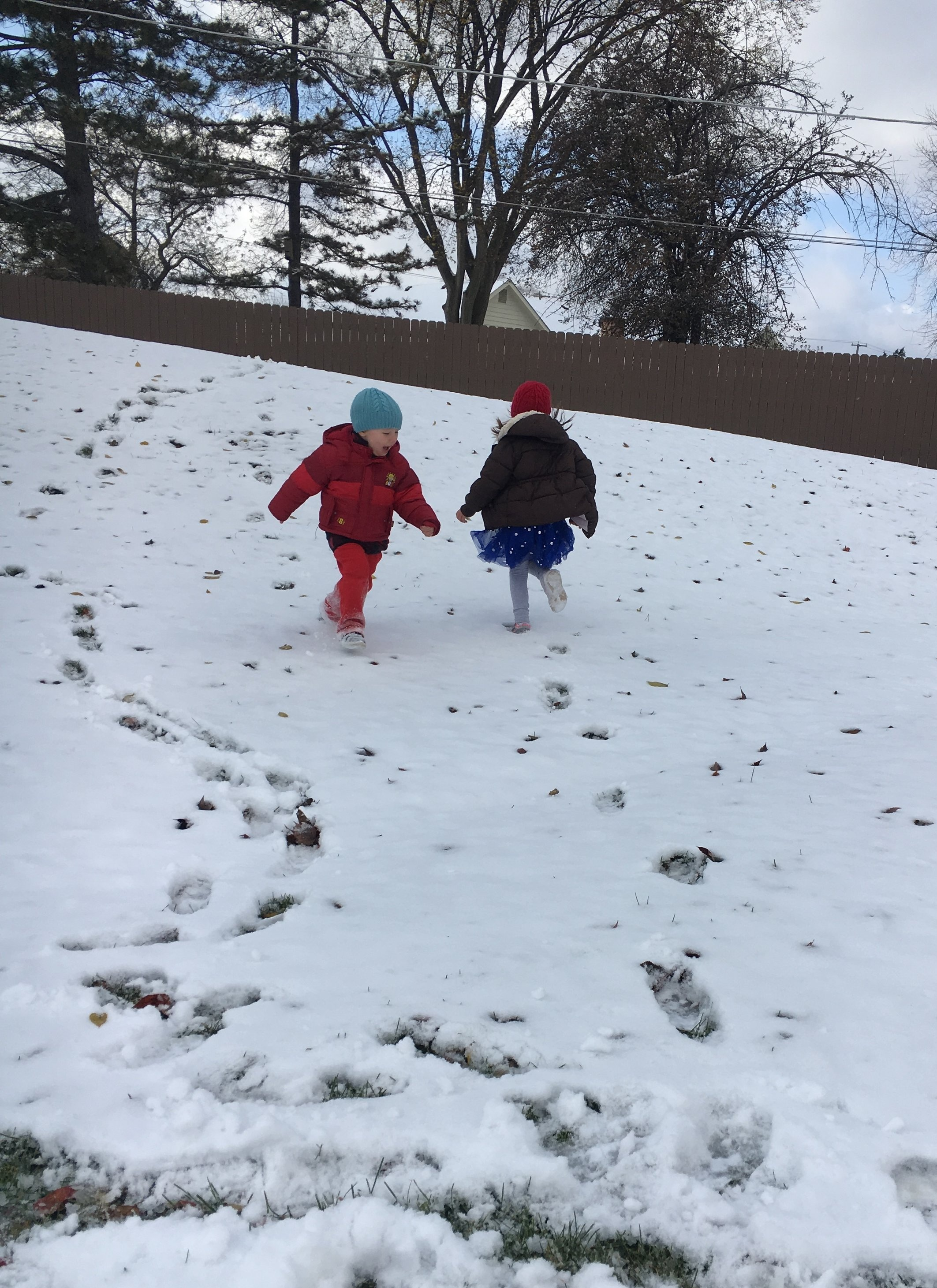 Running in circles in the snow…for days