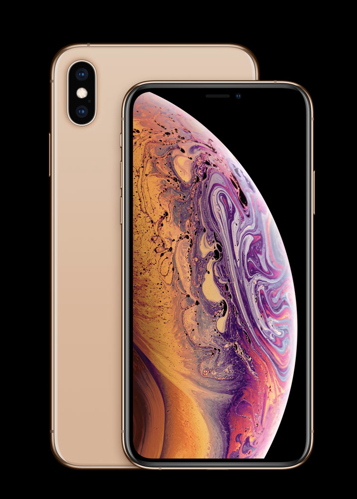 iPhone Xs Gold Color