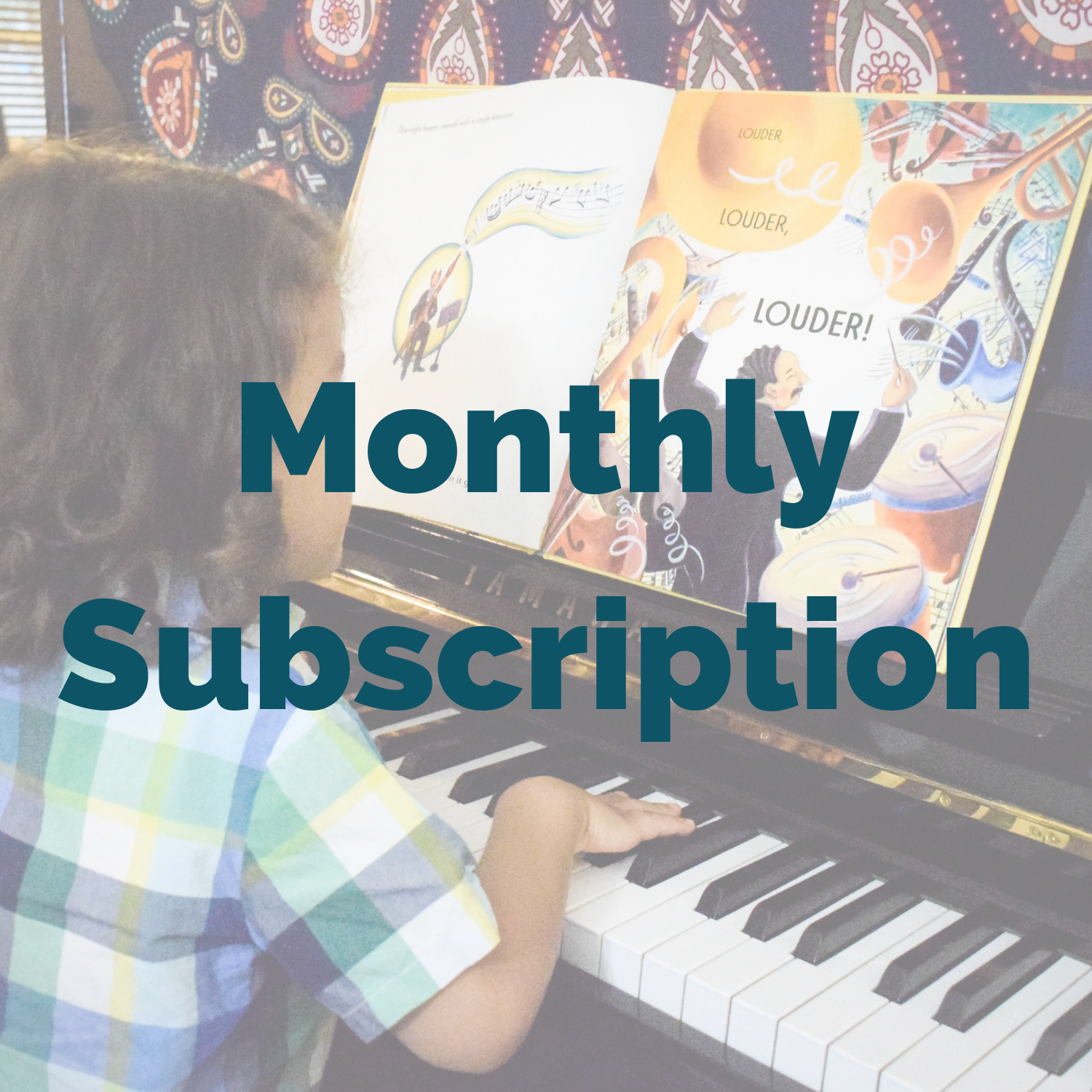 Music Library Monthly Subscription Box