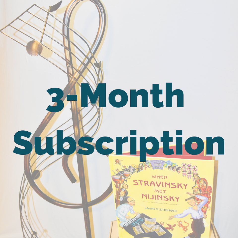 Music Library 3-Month Subscription Box