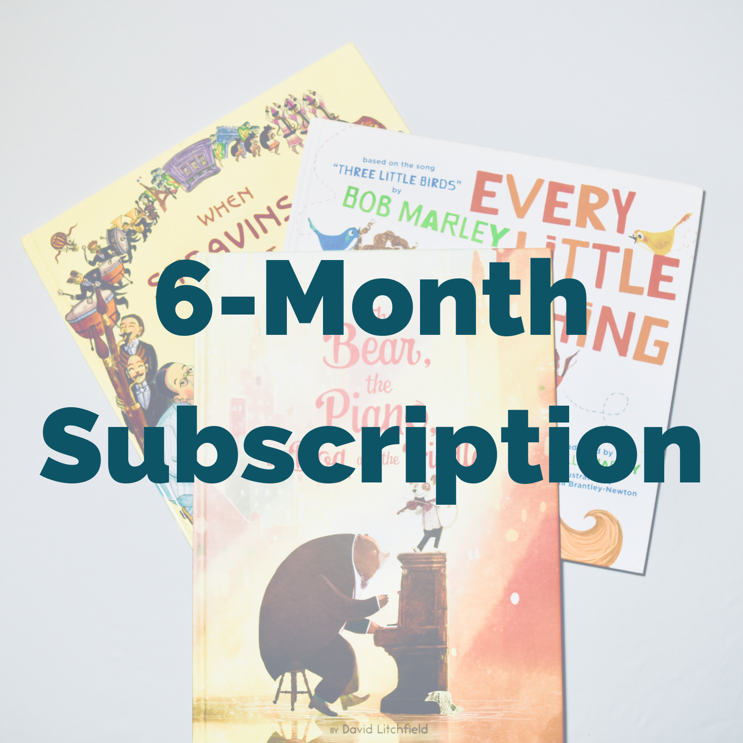 Music Library 6-Month Subscription Box